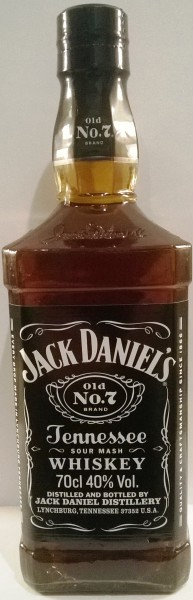 Jack Daniel´s Tennessee Whiskey 700ml Flasche 40%vol.Acl