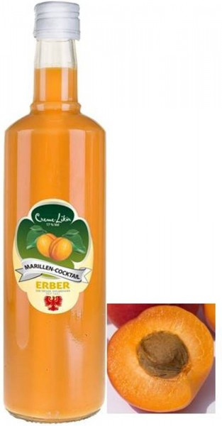 Erber Marillen Cocktail Creme Likör 700ml