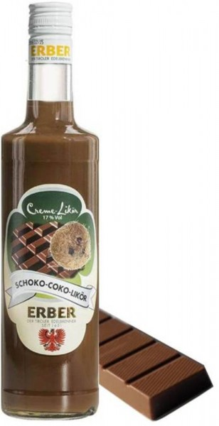 Erber Schoko Coko Cocktail Creme Likör 700ml