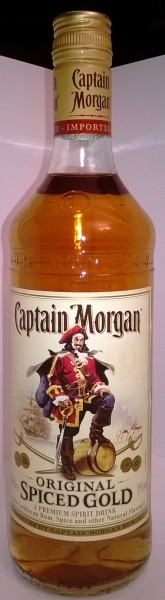 Captain Morgan Original Spiced Gold 35 % Vol. 700ml